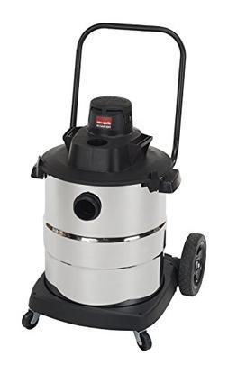 Shop-Vac 6107010 2.0 Peak HP Stainless Steel Wet Dry Vacuum,