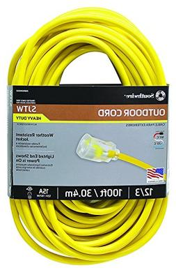 Southwire 02589SW Outdoor Extension Cord- 12/3 American Made