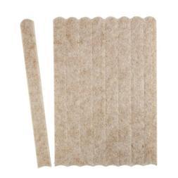 1/2 By 6 Inch Rectangle Heavy Duty Self Adhesive Felt Strips