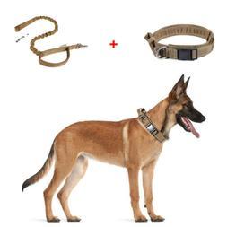 "1.5""  HEAVY DUTY Tactical Training Dog Collar w/Metal Buckle"