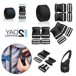 Plastic Buckle Release Nylon Strap 1.5 Inch Heavy Duty Durab