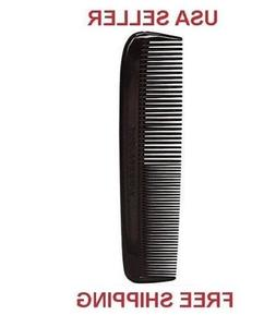 "1 Brand New 4.5 "" Heavy Duty Pocket Comb, Unbreakable, Black"