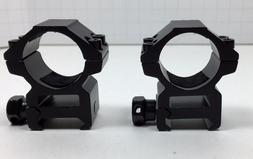 "1"" Heavy Duty Weaver 1 Inch Aluminum Rifle Scope Rings Mediu"