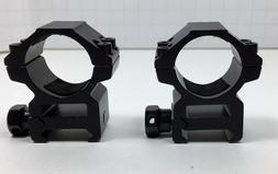"1"" Heavy Duty Weaver 1 Inch Aluminum Rifle Scope Rings Mediu"
