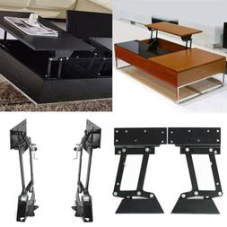 1 Pair Heavy Duty Lift Up Top Coffee Table Furniture Mechani