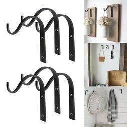 10 Pack Iron Wall Hooks Metal Decorative Heavy Duty Hangers