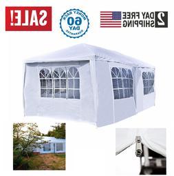 10'X20' White Heavy Duty Portable Garage Carport Car Shelter