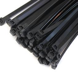 "50 Extreme Heavy Duty 18"" 175 Pound Zip Cable Ties Nylon Wra"