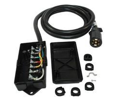 Conntek 10110-048BX Overall 4FT 7-Way Plug Inline Trailer Co
