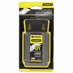 Stanley 11-931D 70 Pack Extra Heavy Duty Utility Blades with