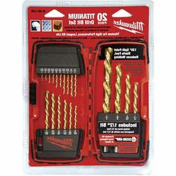Milwaukee 48-89-1105 20 PC Thunderbolt® Titanium Drill Bit