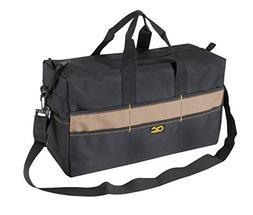 CLC Custom Leathercraft 1113 Extra Large Tote Bag, 17-Pocket