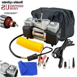 12v 150psi heavy duty portable car electric