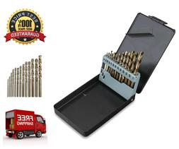 13-Piece Neiko Cobalt-coated Steel Drill Bit Set Heavy Duty