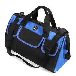 """14-19"""" Oxford Cloth Heavy Duty Tool Bag Electrician Carry Wi"""