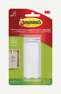 3M 17044-ES Command Plastic Coated White Plastic Canvas Pict