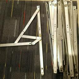 "19 QTY! Acer 16"" Metal Aluminum Triangle Folding Shelf Style"
