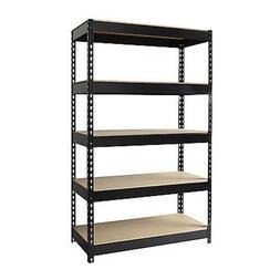 2 Hirsh Industries LLC Rivet 48x72 Heavy Duty 5 Shelf Storag