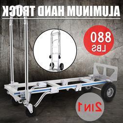 2 in 1 Aluminum <font><b>Hand</b></font> <font><b>Truck</b><