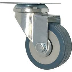 2-Inch Heavy Duty Swivel Wheel Polyurethane Plate Caster