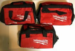 (3 New Milwaukee Fuel M18 Heavy Duty Contractors Tool Bag w/