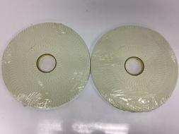 """2- Rolls 3M 4008 Heavy Duty Double-Sided Foam Tape - 1⁄2"""""""