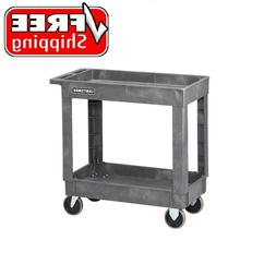 Craftsman 2 Shelf Heavy Duty Utility Cart with Wheels for To