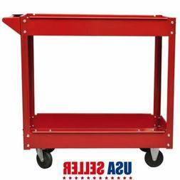 2 Tier Heavy Duty Workshop Garage Mechanic Utility Trolley S