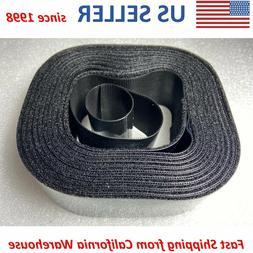 """2""""x15' Roll Hook & Loop Self Adhesive Heavy Duty Tape Indust"""