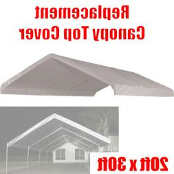 20 x 30 feet Roof Top Cover White Tarp for Replacement Outdo