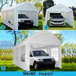20 x10 heavy duty carport garage car