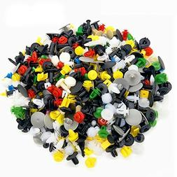 200 Pcs Auto Push Clips - 30 Popular Size Plastic Push Rivet