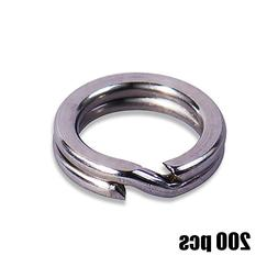 200pcs 3, 3.5, 4, 4.5, 5, 5.5, 6, 7,7.5 mm Stainless <font><
