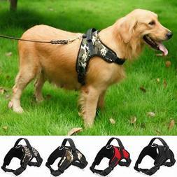 2017 Nylon Heavy Duty Dog Pet Harness Collar K9 Padded Extra