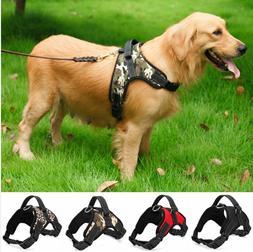 2019 Nylon Heavy Duty Dog Pet Harness Collar K9 Padded vest