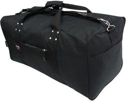 "24""/30""/36""/42"" Black Square Jumbo Duffel /Cargo Bag /Luggag"