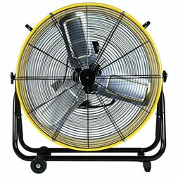 Simple Deluxe 24 Inch High Velocity Heavy Duty Metal Air Cir