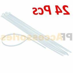 "24 Pcs 30"" x 0.35"" Extra Long Heavy Duty Outdoor UV Cable In"