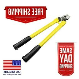 24in-Heavy Duty Carbon Steel Cable Cutter-Industrial Grade-F