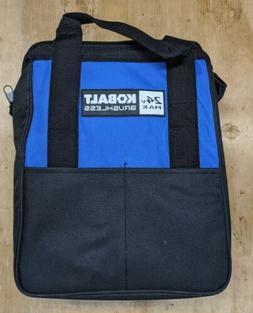 Kobalt 24V Max Heavy Duty Zippered Tool Bag 12x6x12 new