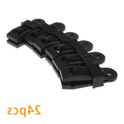 24X Heavy Duty Clamp Tarp Clips Great For Camping Canopies T