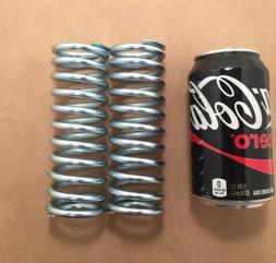 ".250"" Wire Heavy Duty Compression Spring Lot Of 2"