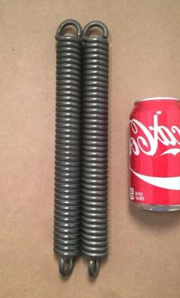 ".250"" Wire Heavy Duty Extension Spring Lot Of 2"