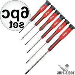 Milwaukee 48-22-2606 6-Piece Precision Screwdriver Set