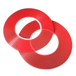 2Pcs 3M RED Double Sided Super Sticky Heavy Duty Adhesive Ta