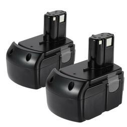2x Battery For Hitachi 18V Li-ion 4.0Ah EBM1830 BCL1815 Heav