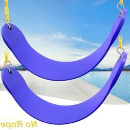 2x Blue U Shape Heavy Duty Swing Seat Swing Set Accessories