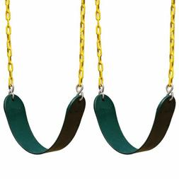 2X Heavy Duty Swing Seat W/ Chain- Swing Set Accessories Swi