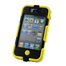 3in1 Heavy Duty Shock Proof Tough Case for iPhone 4s 4 Belt