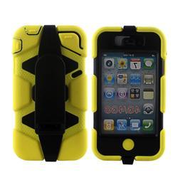3 in 1 Heavy Duty Shock Proof Tough Case for iPhone 4s 4 Bel